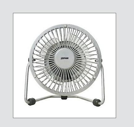 mini ventilatore da tavolo zephir