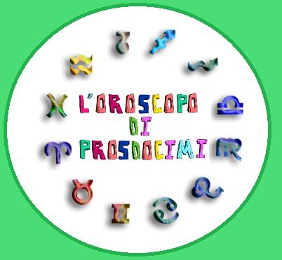 """Oroscopo Comico - """"Le Avventure di Prosdocimi"""" Ep. n. 5"""