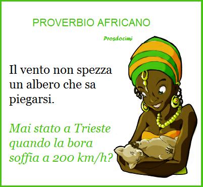 proverbio africano - bora usato per zibaldone ottobre