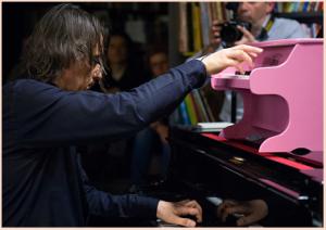pesce 2 giocattolo rosa pianino di Tarragona