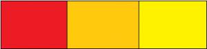 Quiz dei colori - rosso arancio giallo