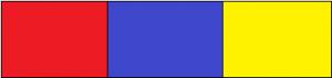 Quiz dei colori - rosso blu e giallo