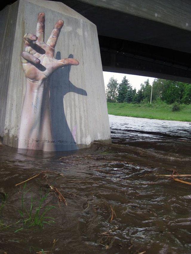 street art attento che