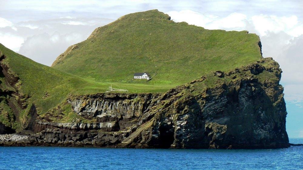 Ellidaey Island e la dimora solitaria