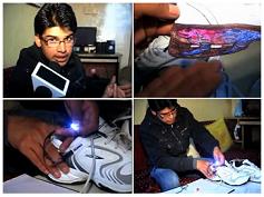 Ricarica le batterie del cellulare… coi piedi!