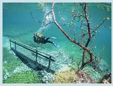 Tragoess (Austria) – Il parco sommerso dalle acque