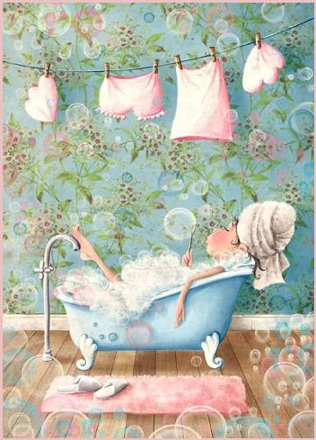 Con l'umorismo di Prosdocimi, il bagno relax è più divertente!