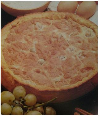 Crostata di Uva Bianca Regina