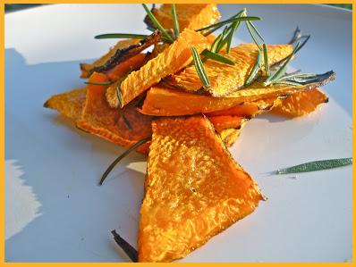 zucca al forno - cena di Halloween