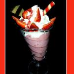 Gelato di mele e gelatina rossa: il dessert della delizia