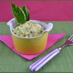 Risotto con zucchine e formaggio Philadelphia: facile ricetta estiva