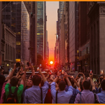 Manhattanhenge: il tramonto più bello dell'anno