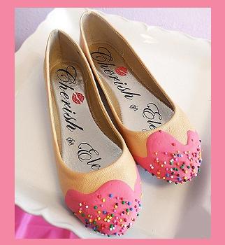 scarpe al cioccolato Campbell