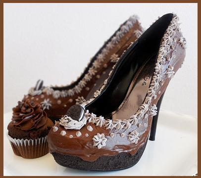 scarpe al cioccolato di Chris Campbell