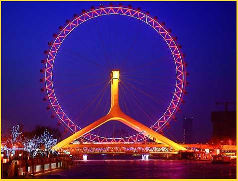 Tianjin Eye Bridge, Cina