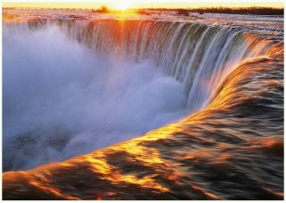 Cascate bellissime Niagara