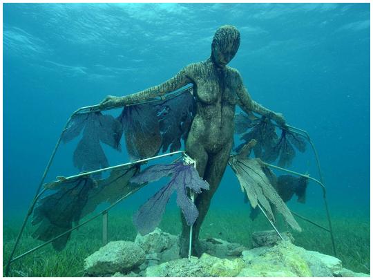 La risurrezione museo sottomarino di Cancun