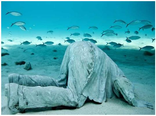 The banker - Museo sottomarino di Cancun
