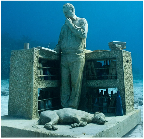 The dream collector - Museo sottomarino di Cancun