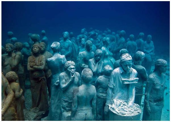 The silent evolution - Museo sottomarino di Cancun