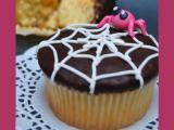 cupcakes di Halloween con crema di zucca