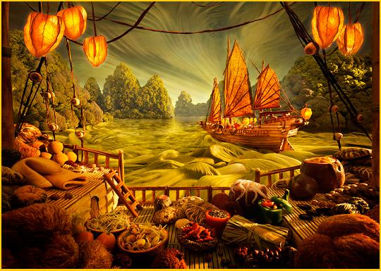 Paesaggi di cibo