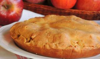 Torta di mele senza farina né zucchero