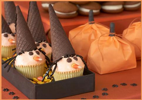Cupcakes Strega di Halloween