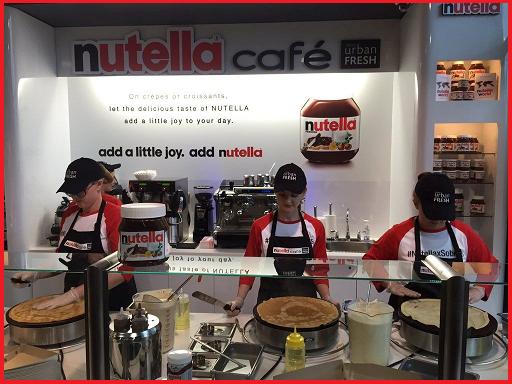 Nutella Caffè di Toronto