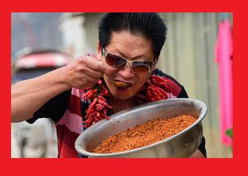 Mangia due chili di peperoncino al giorno