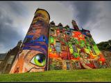 castello scozia graffiti
