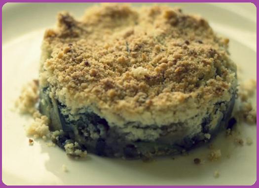 Crumble di funghi e ricotta: ricetta vegetariana