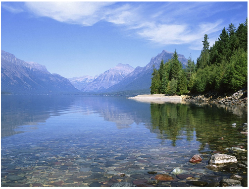 Lake McDonald In Montana