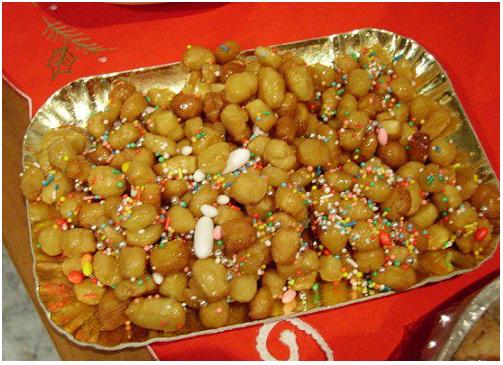 Struffoli Campani - Dolci della tradizione natalizia regionale