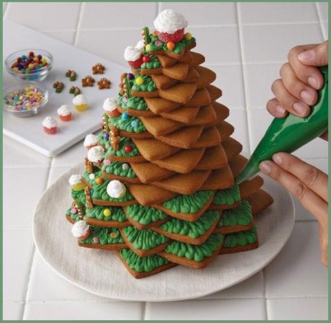 Christmas Cake: decorazioni di torte natalizie