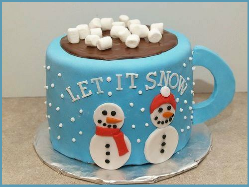 Christmas Cake: Let It Snow! Let It Snow! Let It Snow!