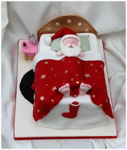 Christmas Cake: Babbo Natale dormiente