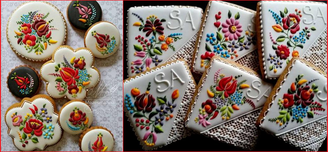 i biscotti ricamati di Judit Czinkné Poór