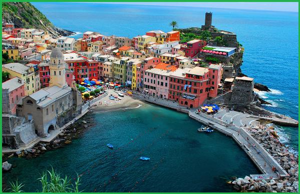 Weekend bellissimi in Italia - Portovenere e le Cinque Terre