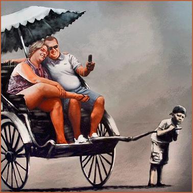 scoperta la vera identità di Banksy?