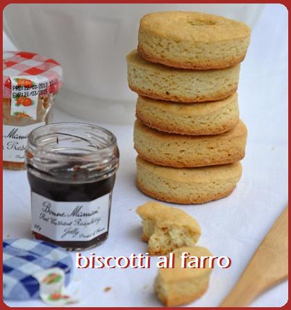 Biscotti al farro, ricetta light