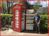 Una vecchia cabina telefonica diventa salad bar: accade a Londra