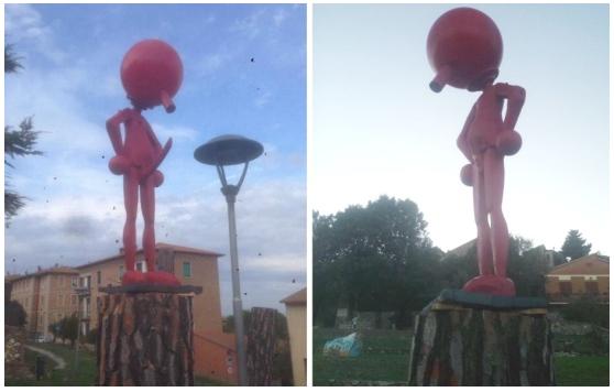 Evirata l'opera di Pinocchio Superdotato in quanto scandalosa