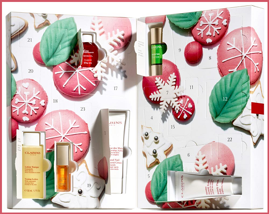 Calendario Beauty Natale 2016 - Clarins