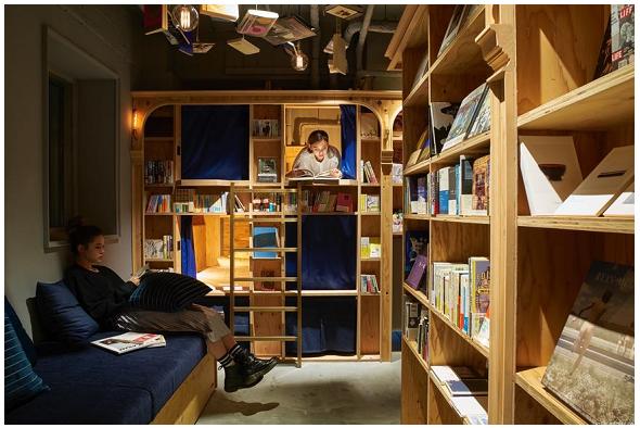 Dopo Tokyo, apre anche a Kyoto il Book and Bed per lettori appassionati che sognano di dormire fra i libri