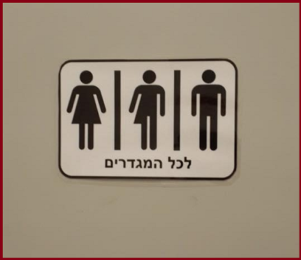 Bagni neutri per studenti transessuali. Accade in una università di Tel Aviv