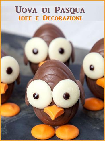 Decorazioni di uova di Pasqua - cake design