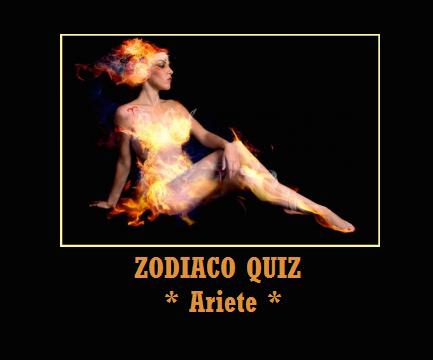 Zodiaco quiz: Ariete
