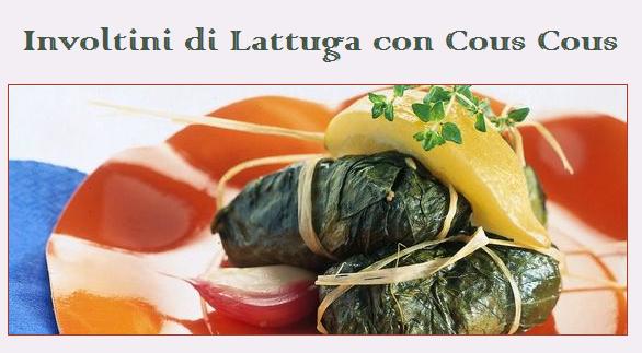 involtini di lattuga con couscous