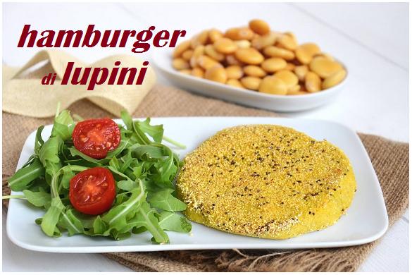 Hamburger di lupini, la facile ricetta No Glutin
